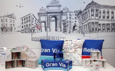 METRO DE MADRID ESTRENA MERCHANDISING OFICIAL